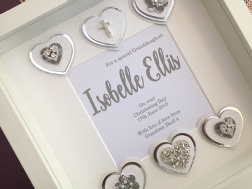 Granddaughters Christening Gift Frame